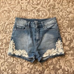 Urban Outfitters BDG Erin High Waisted Shorts